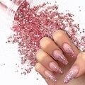 10 мл из розового золота нейл-арта, блестками, пайетками, сделай сам, блестящие пайетки ногтей Подвески пигмент порошок гель для ногтей маник...