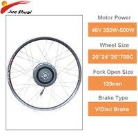 48V 350W 500W Electric Bike Hub Motor Wheel Front Rear Motor Moto Eletrica EBike Brushless Gear Bicicleta Eletrica Motor Bicycle|Electric Bicycle Motor|Sports & Entertainment -