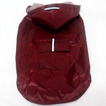 Pet's Hoodies Raincoat with Reflective Stripes Pet Outdoor Rain Jacket Poncho For Medium / Large Dog 6