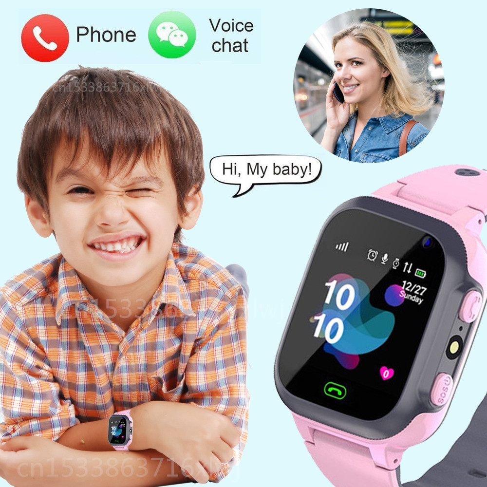 Children s Smart Watch SOS Phone Watch Smartwatch For Kids With Sim Card Photo Waterproof IP67 Kids Gift For IOS Android vs Q12