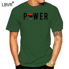 New Black Power T Shirt African Melanin American Pride Gift Panther Uni-Sex Tee(China)