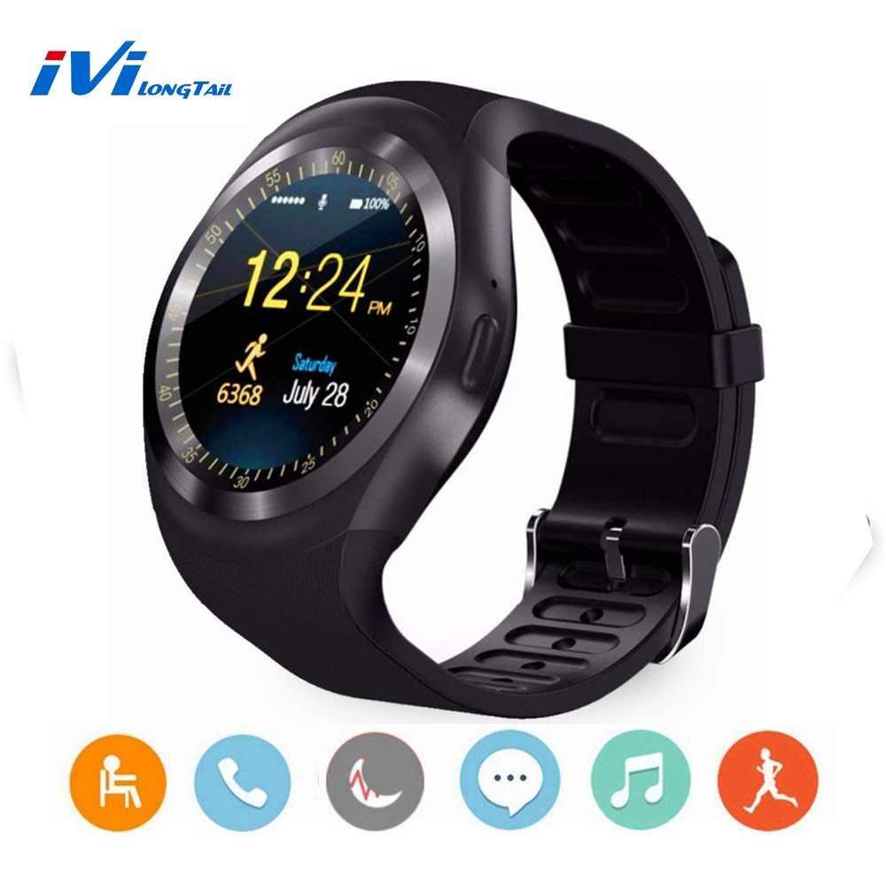 Y1 Bluetooth Смарт-часы Android Smartwatch мобильный телефон sim TF камера Спорт для Samsung LG Sony HUAWEI Google Xiaomi Android