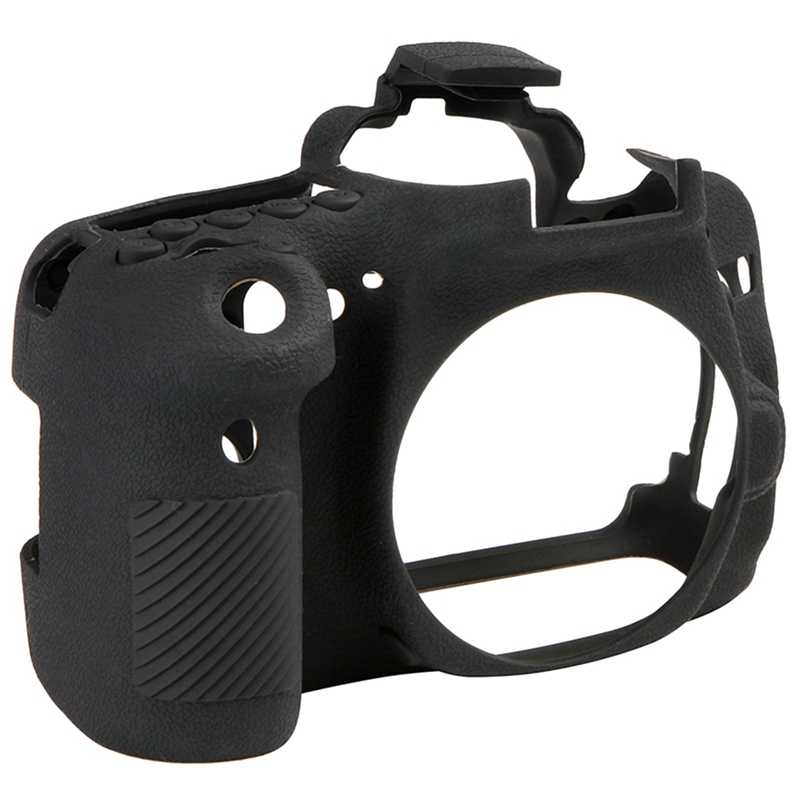 Силиконовый резиновый чехол для камеры Canon Eos 80D съемный противоударный защитный