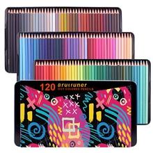 컬러 연필 72/120/180 프리미엄 성인 예술가, 색칠하기 책에 이상적 스케치 음영 아티스트 학생 선물