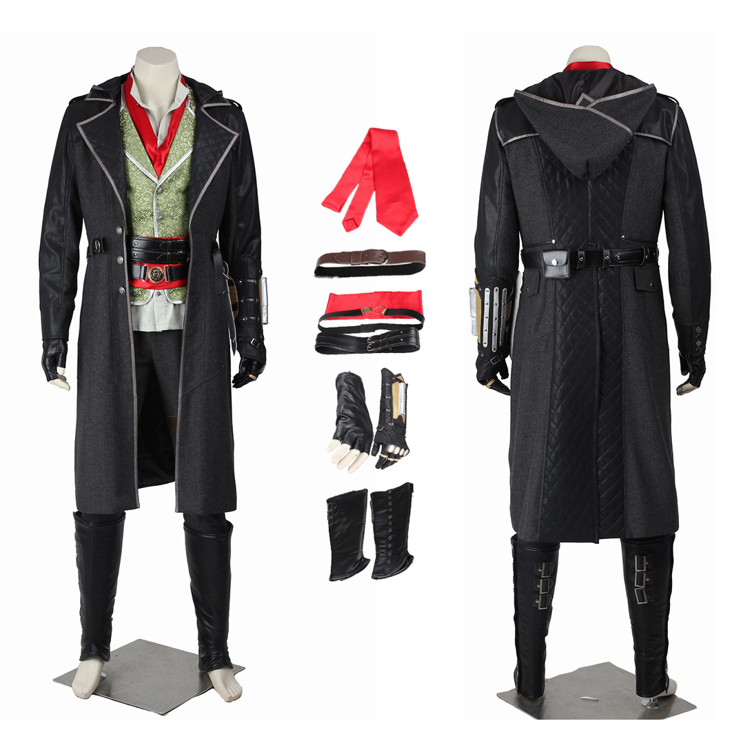 Jacob Frye Costume Assassin S Creed Syndicate Cosplay Full Set
