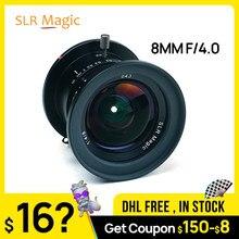 Obiektyw SLR Magic 8mm f/4.0 do mikro czterech trzecich aparatów M4/3 Panasonic Olympus vs 7artisans obiektyw aparatu