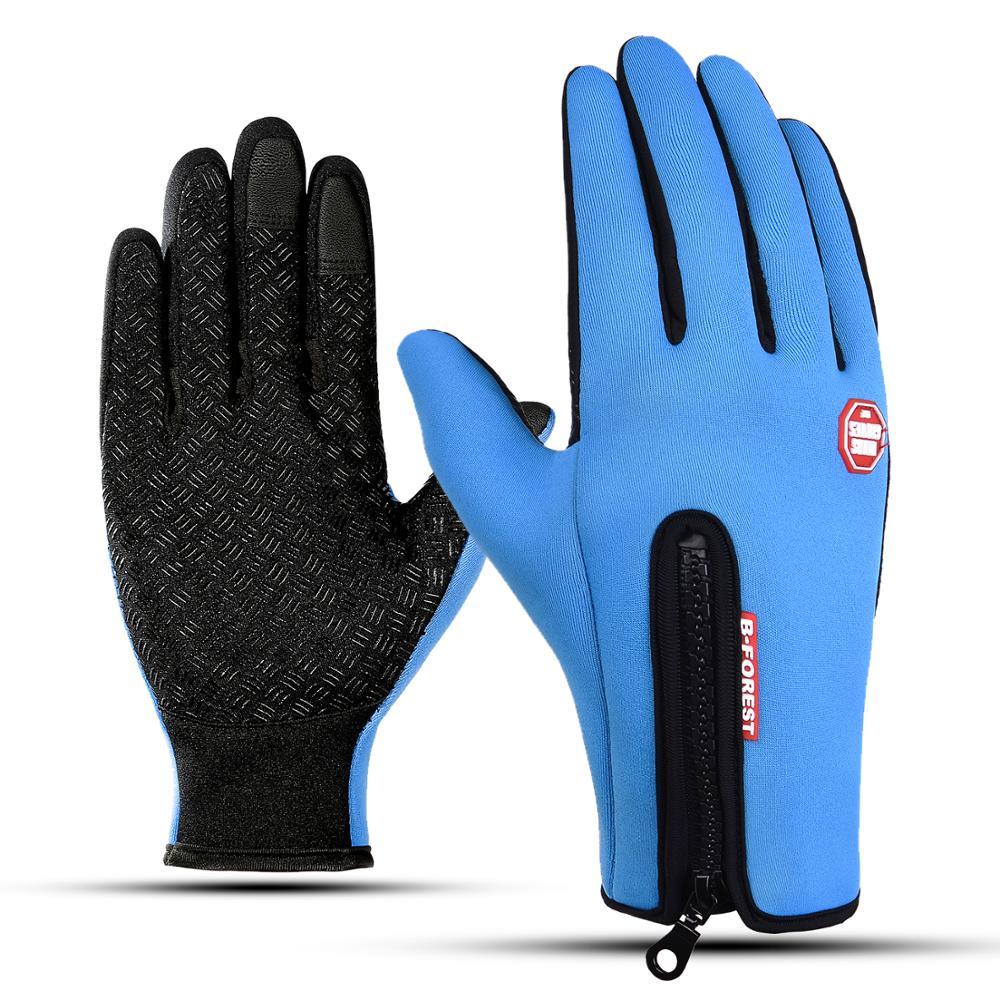 Warm-Gloves Touch-Screen Windstopper Snowboard Riding Winter Waterproof Men