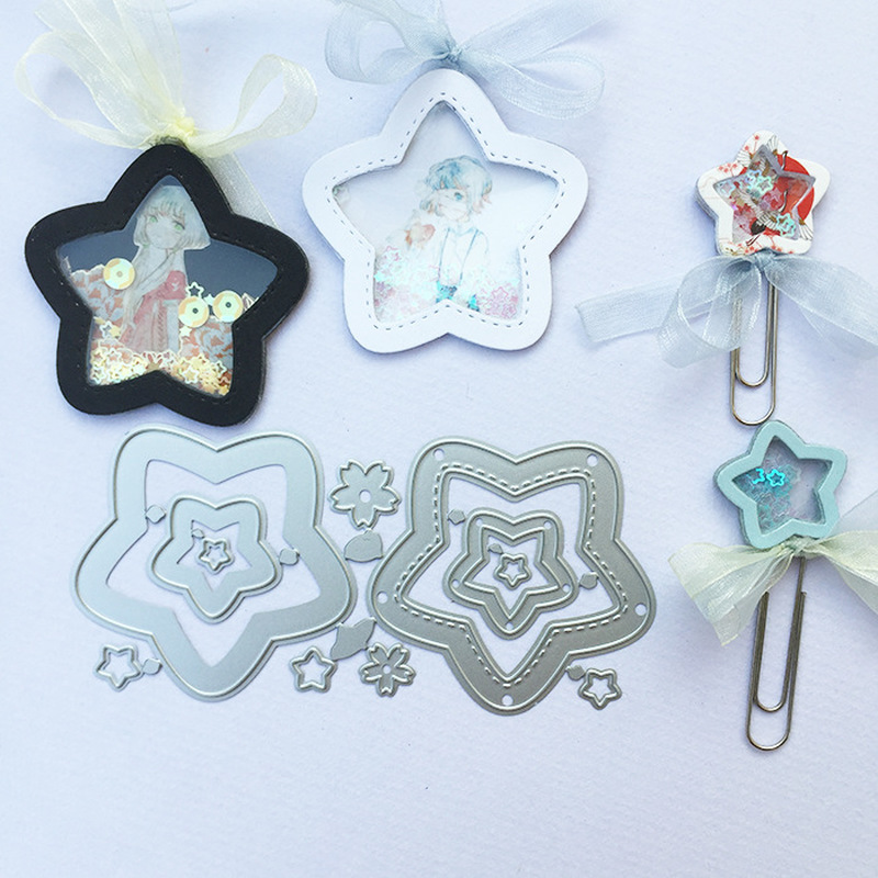 8pcs DIY Cutting Dies Stencils Scrapbook Embossing Craft Album Card Xmas Gifts
