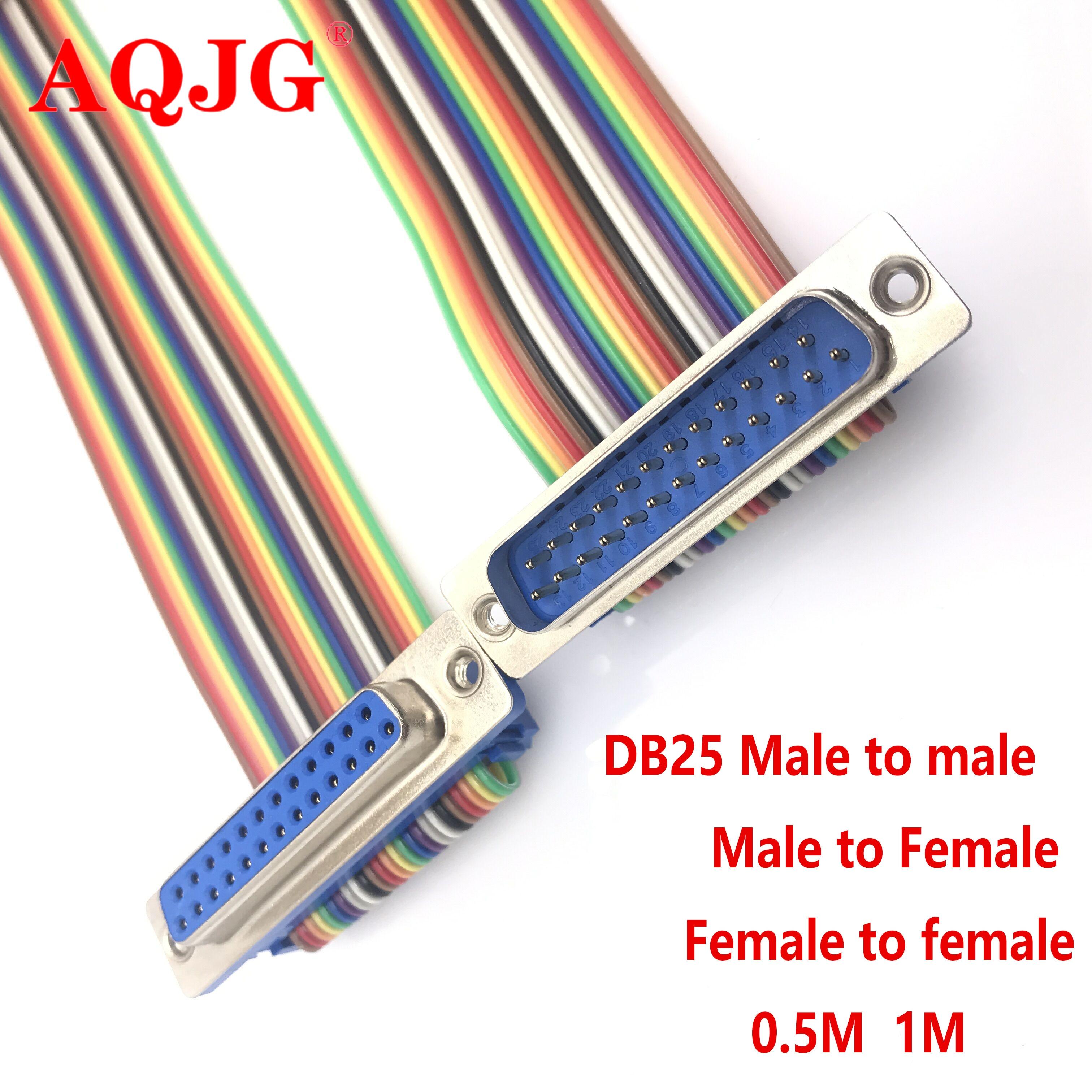 Angepasst DB9 DB15 DB25 DB37 männlich zu weiblich verlängerung kabel DIDC kabel verbindung kabel COM serielle DR