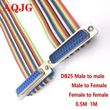 사용자 정의 DB9 DB15 DB25 DB37 남성-여성 확장 케이블 DIDC 케이블 연결 케이블 COM serial DR