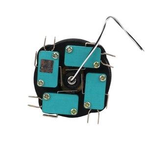 Image 5 - 30mm przełącznik joysticka z Push przycisk przełącznik chwilowy 4 pozycja zatrzaskowy przełącznik kołyskowy Monolever przełącznik krzyżowy HKF4 11A 4