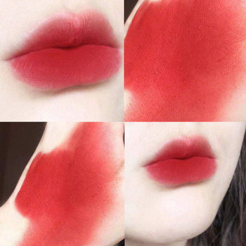 1pcs Red Lip Gloss Tubes Long Lasting Waterproof Moisturizer Liquid Lipsticks Makeup Cosmetics Korean Lip Tint Pigment Gift