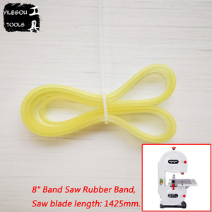 "Image 4 - 2 Pieces Band Saw Rubber Band Voor 8 ""(1425Mm), 9"" (1570 Of 1575Mm), 10"" (1826Mm) band Saw Scroll Wiel Rubber Ring."