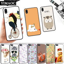 Lovely Cartoon Animals Silicone Soft Case for Redmi 4A 4X 5 Plus 5A 6 Pro 6A 7 7A S2 Go K20 Note 5A Prime 8 ariana grande lovely cartoon silicone soft case for redmi 4a 4x 5 plus 5a 6 pro 6a 7 7a s2 go k20 note 5a prime 8