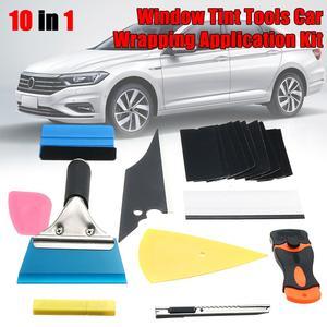 Image 2 - 28 * รถฟิล์มไวนิล Tools Squeegee Scraper Applicator ชุดอุปกรณ์จัดแต่งทรงผม Window Tint Wrapping เครื่องมือ