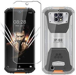 На Алиэкспресс купить чехол для смартфона for oukitel wp6 mt6771t case for oukitel wp6 luxury soft tpu phone case with tempered glass for oukitel wp6