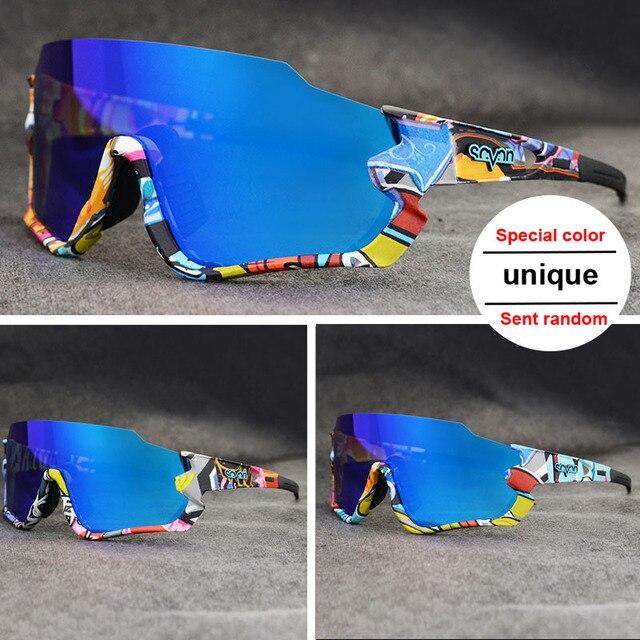 Polarizado óculos de ciclismo homem esporte óculos de sol photochromic uv400 5 lente deportivas polarizadas hombre gafas oculos ciclismo 5