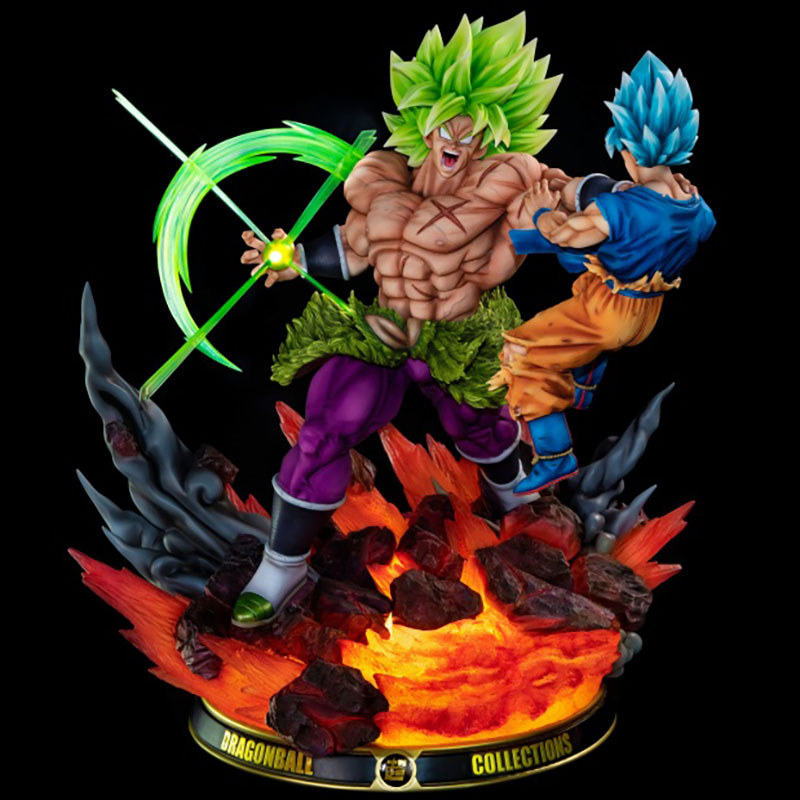 Broly Batters Son GK Limited Statue Figure 1