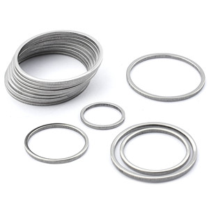 20Pcs Stainless Steel Earring Charm Circle Hoop Connector 15mm 20mm 25mm 30mm 35m Link O Ring Jewelry Making DIY Earring Finding