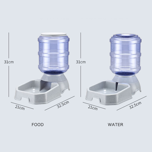Kitten & Puppy Bowl Automatic Feeders 6