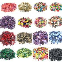 50Gram Mix Size Shape Lots Colors Buttons For Scrapbook Crafts DIY Handmade Baby Children Clothing Sewing Accessories WD0021