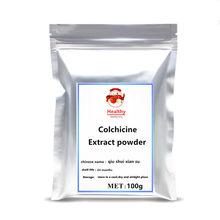 Colchicine Powder 99% Autumn Crocus Colchicum Autumnale Extract Free shipping