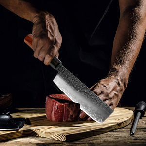 Image 5 - XITUO Kitchen Chef Knife Three layer Steel Handmade Forged Sharp Cleaver Kiritsuke Boning Santoku Paring Knives Cooking Tools