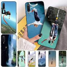 BaweiTE Bungee jumping TPU Soft Silicone Phone Case Cover for xiaomi mi 8 9 8SE 9SE 8Lite mix2 2S max2 3 Pocophone F1(China)