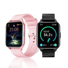 AndroidとIOS用のコネクテッドウォッチ,電子ブレスレット,血圧と心拍数の制御,電子制御機能付き,防水,合金