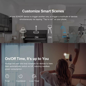 Image 5 - SONOFF Mini Two Way Intelligent Switch DIY Appliance Automation Remote Control Switches for Alexa Google Home WiFi Smart Switch