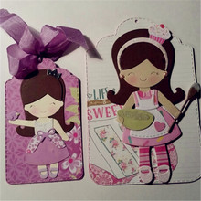 2.9x3.3inch Baby Girl 2019 New Die Cuts Metal Cutting Craft for Scrapbooking Card Making