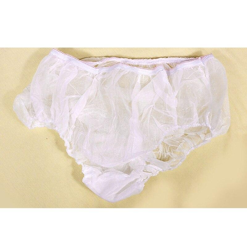 5Pcs Non-woven Pregnant Disposable Underwear Briefs Postpartum Travel Underpants