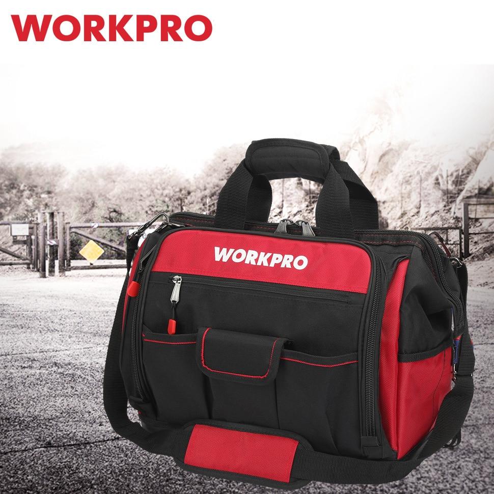 workpro-16-open-top-tool-storage-bag-multifunctional-heavy-duty-tool-bag-men-crossbody-bag-for-tools