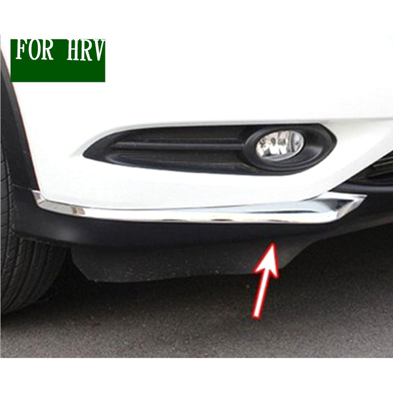FIT FOR 2014-2018 <font><b>HONDA</b></font> Binzhi/<font><b>HRV</b></font> modification Front corner decoration ABS plating exterior modification <font><b>accessories</b></font> image