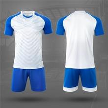 الرجال الاطفال كرة القدم مجموعات قصيرة الأكمام الكرة الطائرة زي قمصان كرة القدم قمصان الرياضة عدة ملابس رسمية تنفس مخصص الطباعة