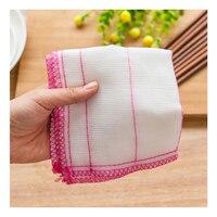 RSCHEF плюс хлопок посуда из волокна ткань кухня чистящие салфетки не-масло абсорбент воды полотенце Чистящая прокладка чистящая ткань