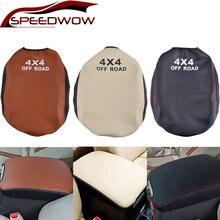 Кожаный Автомобильный подлокотник speedwow чехол для toyota