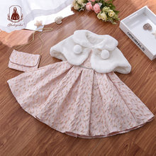 Yoliyolei 3 единица; Платья для маленьких девочек в комплекте