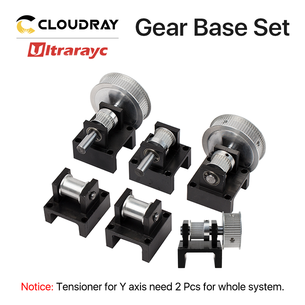 Smartrayc Gear Base Set Machine Mechanical Parts For Laser Engraving Cutting Machine