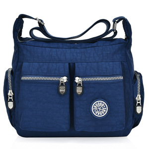Image 4 - 2020 womens bags new waterproof  shoulder & crossbody bags zipper nylon fashion cross travel  womens messenger bag