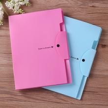 Torba do przechowywania A4 torba na dokumenty PP zestaw informacyjny spinacz do papieru rozkładana teczka 5 do folderu wielowarstwowy pokrowiec na dokumenty foldery na dokumenty tanie tanio Rozszerzenie portfel 1188 Business gift Customer Blue pink