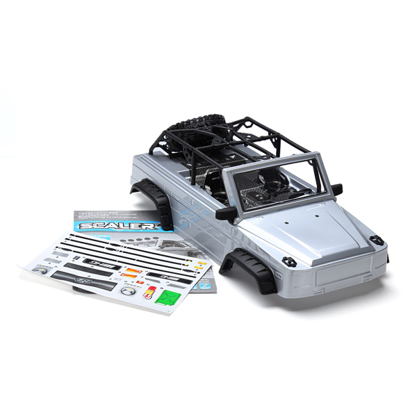 HG P402 RC Car 1:10 Parts 4WD RC Crawler Body Shell Assembly HG-CKP402 RC Car Parts RC Vehicle Accessories