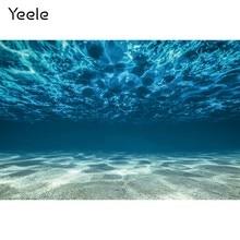 Yeele paisagem natural do fundo do mar água sol aquário verão subaquática fotografia fundo do bebê backdrops para estúdio de fotos
