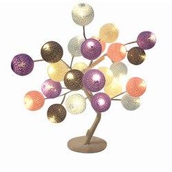 Lampa biurkowa sypialnia Ins Girl przytulna romantyczna dekoracja lampka nocna zwięzła nowoczesna oryginalność prezent mała lampka nocna