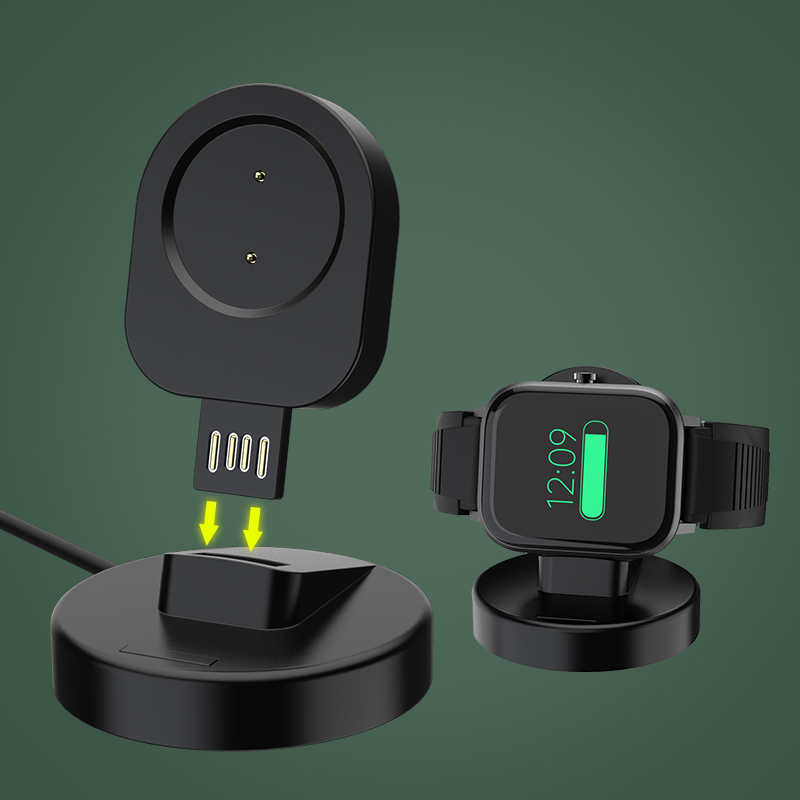 Magnetic Chargers For Amazfit GTR 42mm 47mm GTS USB Wireless Fast Charging Replace Dock Cradle Station