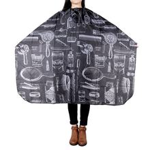 Pattern Cutting Hair Waterproof Cloth Salon Barber Cape Hairdressing Hairdresser Apron Haircut capes(China)
