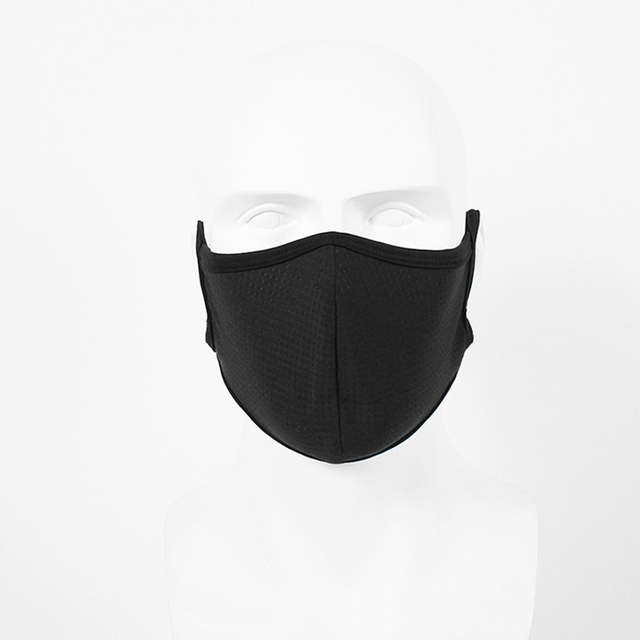 1Pcs Multi Color Cotton PM2.5 Black Mouth Mask Anti Dust Mask Breathable Filter Windproof Mouth-muffle Bacteria Proof Flu 2