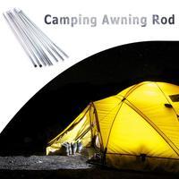 Acampamento ao ar livre dobrável toldo haste barraca dobrável pólo suporte pólo sun abrigo lona praia tenda hastes tenda acessórios