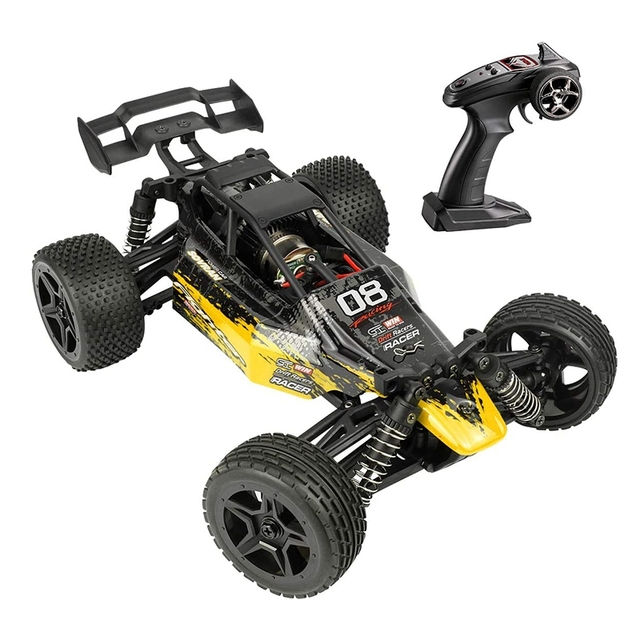 1:16 Radio RC Car High Speed RC Cars 4WD 36KM/H Off Road Buggy Truck Electric Drift Toy Trucks Yellow 1