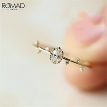 Delicado micro zircônia cúbica noivado anéis de casamento para as mulheres dainty fino anel de dedo jóias cz cristal folha anéis presente r50